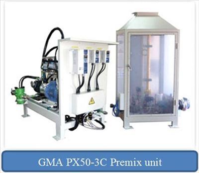 PX50-3C Premix unit